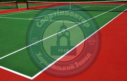 Tennis courts floorage