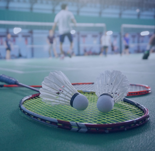 Equipment and accessories for badminton