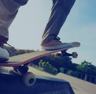 Equipment for roller arenas and skate parks