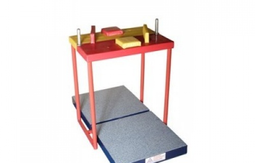 Base unit for armwrestling table