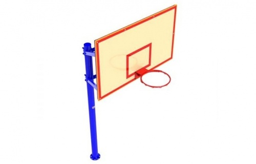Backboard for training plywood