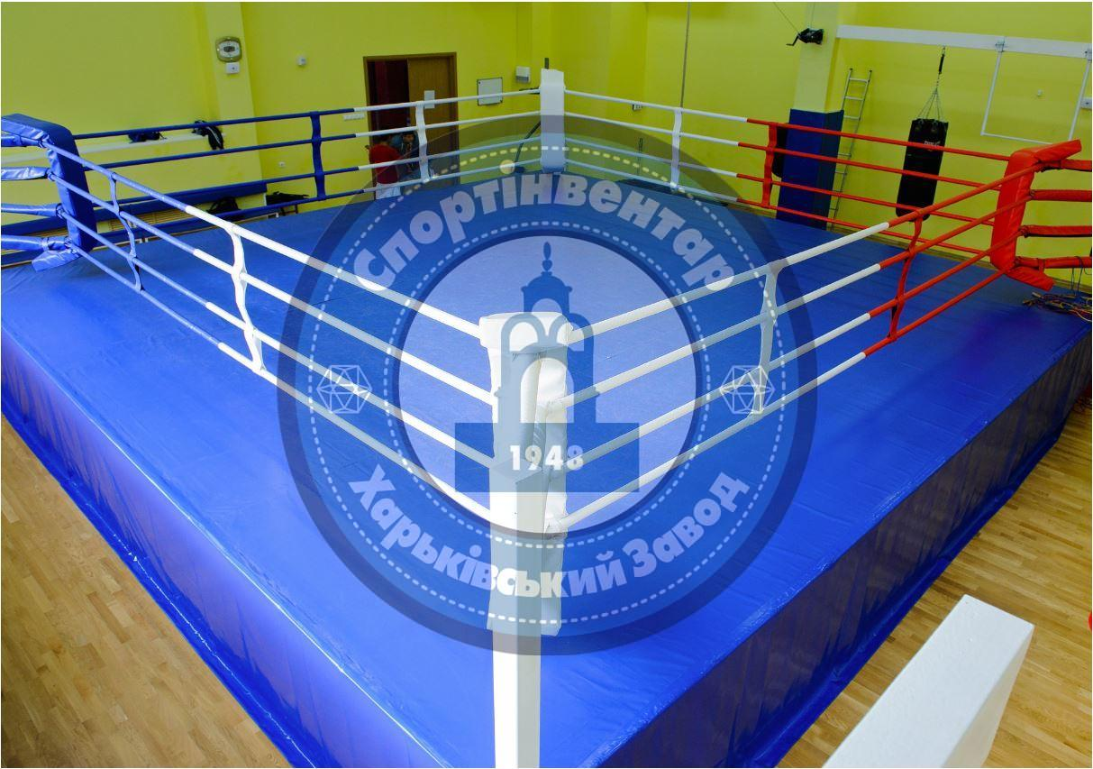 Professional ring on the platform 6x6 m