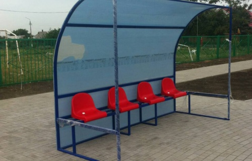 Benches for referees