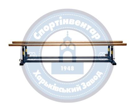 Gymnastic bars low
