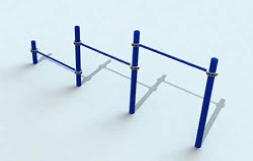 Specialized push-ups equipment for street workout.