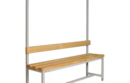 Single bench for locker rooms